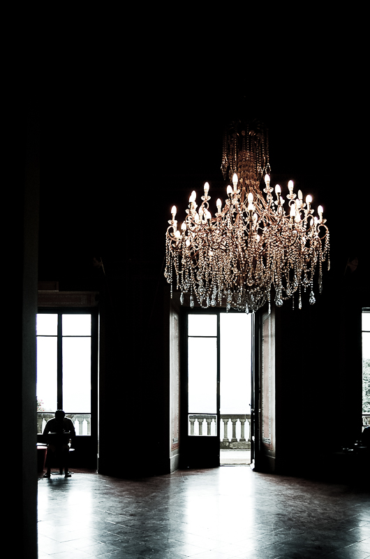 dramatic chandelier Italy