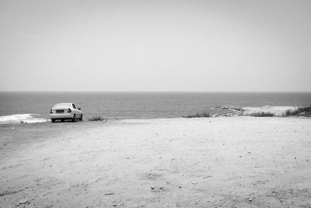 Tel Aviv car in the beach in Jaffa